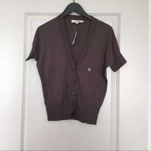 Loft Short Sleeve Cardigan